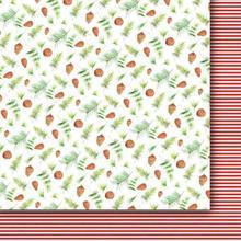 Świąteczny papier Wigilijne Drzewko 30,5x30,5cm 02
