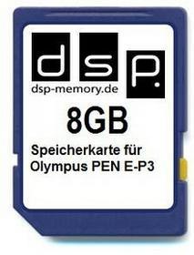 DSP Memory parent for Olympus PEN E-P3 8 GB 4051557406872