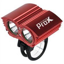 PROX Lampka Dual Power I czerwony XM-L2 T6