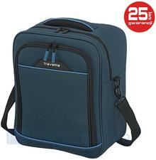 Travelite Torba podróżna podręczna DERBY 87504-20 Niebieska - niebieski