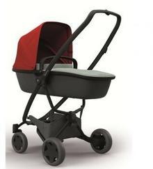 Quinny Wózek głęboko-spacerowy 2w1 Zapp Flex Plus czerwono/grafitowy