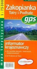 Demart Zakopianka Tatry Podhale mapa turystyczna - Demart