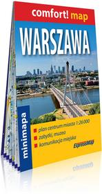 ExpressMap Comfort! map. Warszawa. Plan miasta w skali 1:26 000 praca zbiorowa