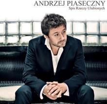 Spis Rzeczy Ulubionych Reedycja CD Andrzej Piaseczny