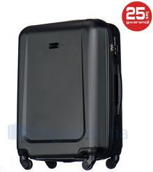 Puccini Średnia walizka IBIZA ABS04B 1 Czarna - czarny ABS04B 1