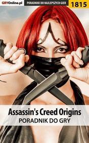 "Jacek \""Stranger"" Hałas, Natalia ""N.Tenn"" Fras Assassin's Creed Origins - poradnik do gry"