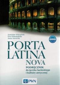 Ewa Pobiedzińska, Magdalena Jaworska, Stanisław Wi Język łaciński Porta latina nova LO kl.1-3 podręcznik / CYKL WIELOLETNI 9788326224072