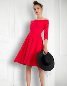 Kasia Miciak design Sukienka czerwona hiszpanka