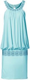 Bonprix Sukienka koktajlowa morski pastelowy