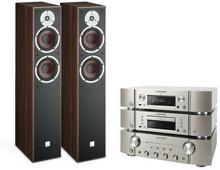 Marantz PM6006 + CD6006 + NA6005 + Dali Spektor 6