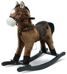 Bayer Chic Koń na biegunach z dźwiękiem ciemny brąz