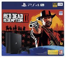 Sony Konsola PlayStation 4 Pro 1TB Czarny + Red Dead Redemption 2 + PSN 14 dni