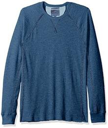 Lucky Brand męski Strong Boy Thermal Crew T-Shirt wieczko , kolor: indygo , rozmiar: s 7M62084-IND-S
