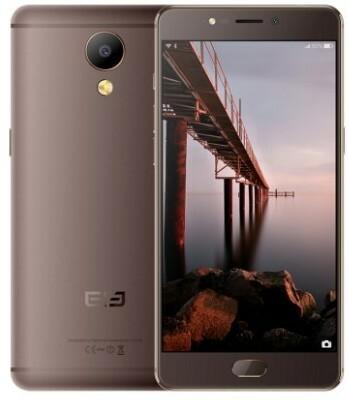 Elephone P8 64GB Dual Sim Brązowy