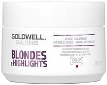 Goldwell Dualsenses Blondes & Highlights, 60-sekundowa kuracja dla włosów blond, 200 ml