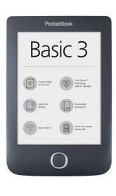 Pocketbook 614 Basic 3 czarny + Etui na czytnik PB614W-2-E-WW