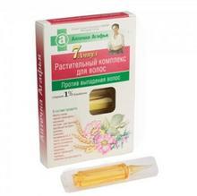 Pierwoje Reszenie Receptura Babuszki Naturalne ziołowe serum do włosów przeciw wypadaniu