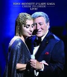 Cheek To Cheek Live Polska cena) DVD) Tony Bennett Lady GaGa Płyta CD)