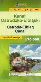 Kanał Ostródzko-Elbląski. Mapa turystyczna (skala 1:70 000) - Daunpol