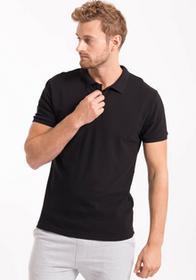 4F Koszulka polo męska TSM051AZ czarny [E4Z17-TSM051A] TSM051A czarny