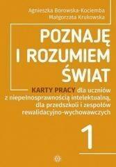 Harmonia Poznaję i rozumiem świat 1 Karty pracy  - Agnieszka Borowska-Kociemba, Małgorzata Krukowska