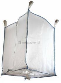 Worek BIG BAG. 4 uchwyty, wym. 900x900x1200mm (Ładowność 500 kg)