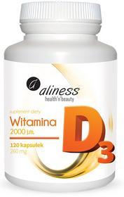 Aliness Witamina D3 2000 120 kaps.