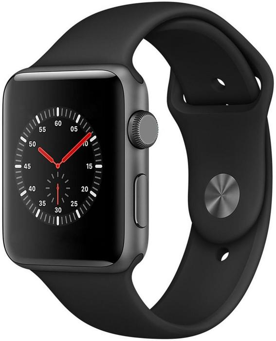 Apple Watch 3 42mm Aluminium / Czarny