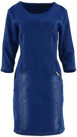 Sukienka jeansowa DUŻY ROZMIAR z kieszeniami : Rozmiar - XXL