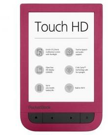 PocketBook 631 Touch HD czerwony
