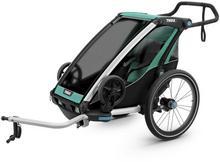 Thule Chariot Lite 1, Wózek - przyczepka rowerowa, Morski/Czarny