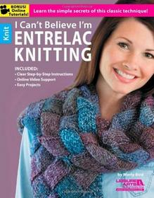 Leisure Arts i can't believe I'm entrelac Knitting: Learn the Simple Secrets of This Classic Technique. LA-5773