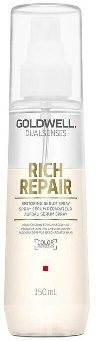 Goldwell Dualsenses Rich Repair, odbudowujące serum w sprayu do włosów zniszczonych, 150 ml