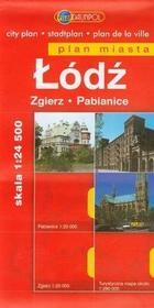 Daunpol  Łódź Zgierz Pabianice plan miasta 1:24 500