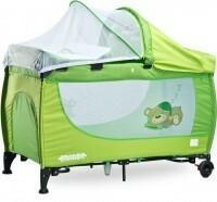 Caretero Łóżeczko łóżeczka turystyczne Grande zielony +