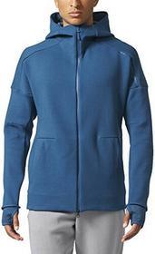 bluza męska Zne Hood2 Pulse, rozmiar uniwersalny, niebieski, l BQ0095