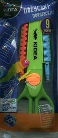 DERFORM nożyczki dekoracyjne, 9 wzorów