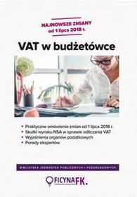 Praca zbiorowa VAT w budżetówce - dostępny od ręki, natychmiastowa wysyłka