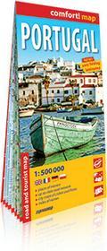 ExpressMap praca zbiorowa comfort! map Portugalia (Portugal). Laminowana mapa samochodowo-turystyczna 1:50 000