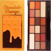Makeup Revolution I HEART MAKEUP Paleta 16 cieni do powiek Chocolate Orange 0000059388