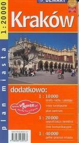Kraków - plan miasta (skala 1:20 000) - Demart