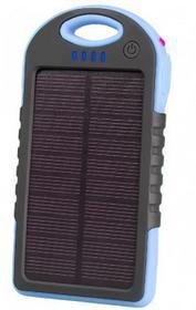 Tracer Powerbank Solar  5000mAh niebieski TRABAT45046