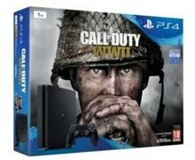 Sony PlayStation 4 slim 1TB Czarny + Call of Duty: WWII