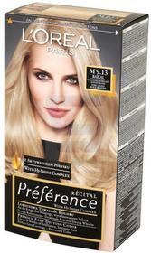Loreal Recital Preference Farba do włosów Bardzo Jasny Popielato Złocisty Blond