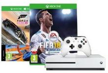 Microsoft Xbox One S 500 GB Biały + Forza Horizon 3 + Forza Horizon 3 Hot Wheels + 6M Live Gold
