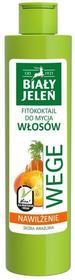 Pollena Biały Jeleń Wege Fitokoktajl do mycia włosów nawilżający Marchew i Dynia 250ml
