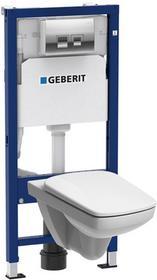 Geberit Zestaw podtynkowy Unifix Pro bezkołnierzowy z deską wolnoopadającą 118.301.21.1