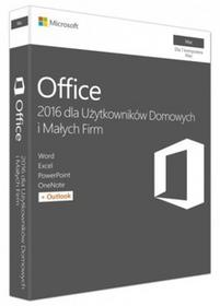 Microsoft Office Mac Home Business 1PK 2016 English EuroZone Medialess P2 (W6F-00952)