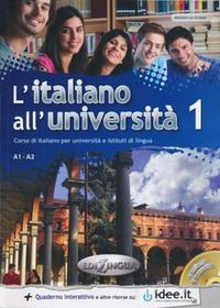 edilingua L'italiano all'universita 1 Podręcznik + ćwiczenia + CD audio - La Grassa Matteo