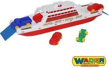 Wader Quality Toys Łódź Transportowa Statek Okręt Bałtyk 56689